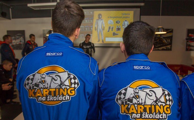 Karting na školách pokračuje